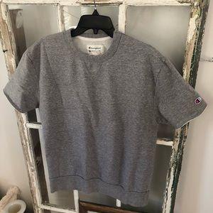 Champion shirt sleeve sweatshirt